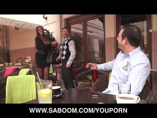 Emma Butt fucking hot Milf at Saboom