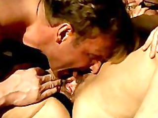 German Mature Takes 2 Cock In Ass Troia german