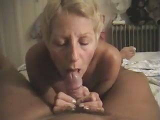 nudist filming his wife giving him a blowjob at
