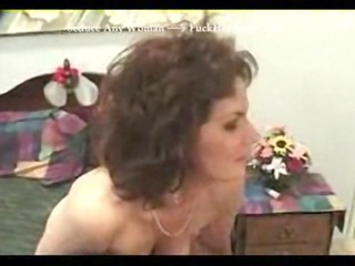Granny Loves Anal Threesome