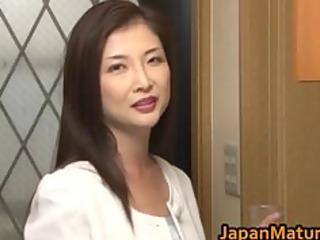 Chisa Kirishima Mature Asian lady shows part5