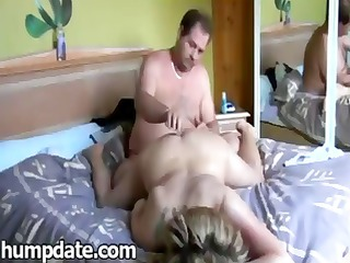 Hubby bangs his wife and then fingers her pussy