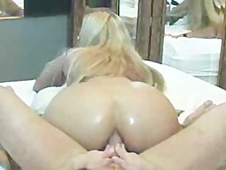 Hot Ass Riding In Front Of Mirror