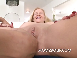 Pierced robot crazy pussy owned by milf is about