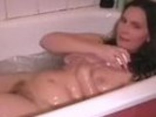 Mature Wife Filmed Taking A Bath