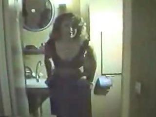 Filmed Amateur Striptease