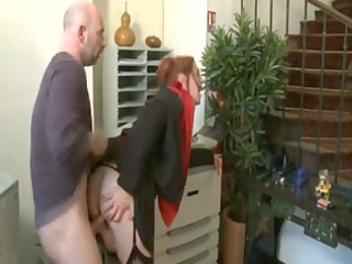 Mother Id Like To Fuck redhead in business dress