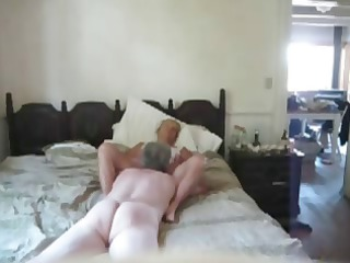 Mature couple filming him giving his 53 yo wife