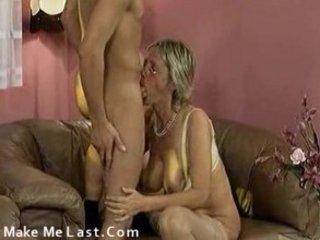 Grandmom and boyfriend fucking