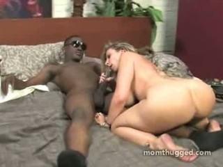 Big black dick for white milf who loves it big
