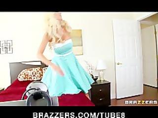 Busty bigboobed blonde MILF Puma Swede is