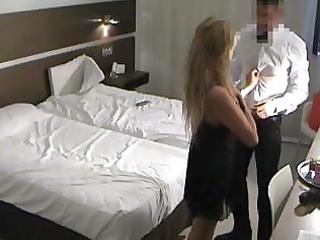 Spy Milf Fucks Room Service Guy