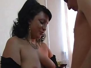 Big Tits Chubby Mature Brunette...