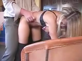 hot non-professional wife playing with knob