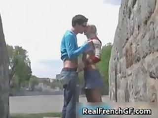 Slutty french girlfriend road trip sex part4