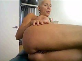 Horny Mature On Cam, With Many Rings On Her