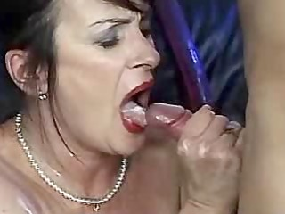 Mature Trailer 1-Mature Cumshot