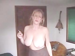 Ashley Awesome Smoking Sex Dirty MILF
