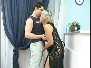 Young Adam Licking Mature Margaret