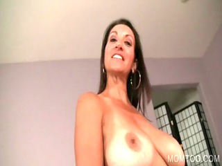 Mommy and daughter giving blowjob
