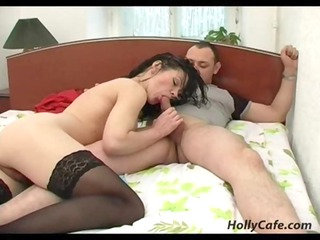 Amazing action with hot mature