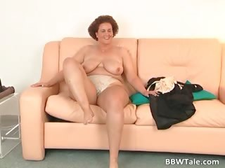 Chubby milf feeling wet and horny during part6