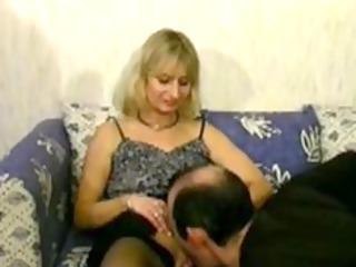 Blonde mature cheats on her husband