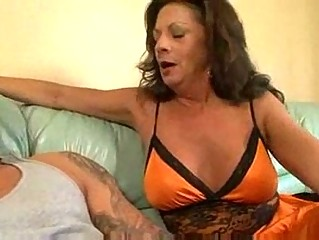 Mature cougar margo sullivan banging young man