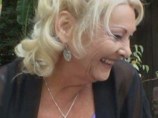 BBW granny blonde