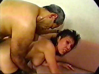 SDRUWS2 - Asian mature hotel employee anal and