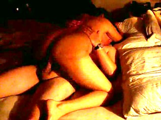 Hubby fucks wify on bed