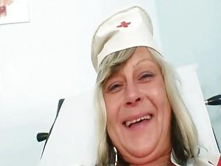 Nasty nurse mom id like to fuck Nada bonks