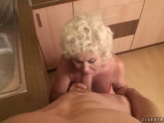 Granny getting fucked from POV by reno78