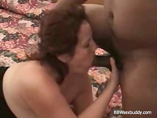 BBW Wife Enjoys 2 Cocks while Hubby is taping