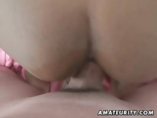 Arab amateur wife homemade blowjob and fuck with
