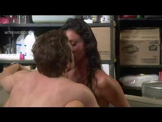 Threesome pornstars hot tub together