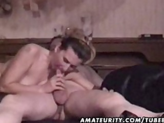 Mature amateur couple homemade hardcore action