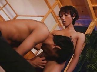 Skinny Asian Boys Bombastic Blowjob Moment