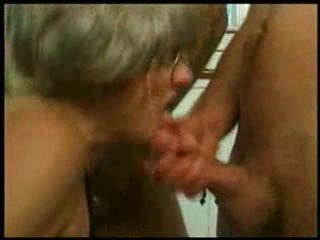 grand mom trys gangbang with several young guys