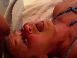 Daddy cum on face of mummy 2. Great stolen video !