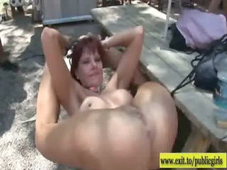 Public Sex Party with many horny amateur girls