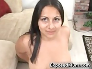 Latina mom tit fucks and pounded hard
