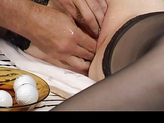 Mom and Dad love extreme pussy play