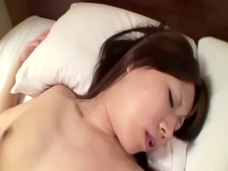 Asian milf loves the feeling of a hard dick