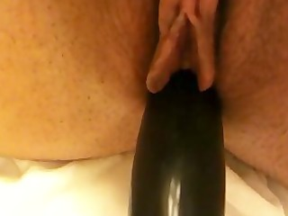 slutty wife with a brush