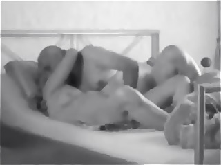 My Wifes first Porn Vid - Matures Threesome
