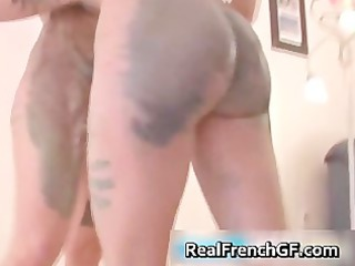 Beautiful french girlfriends naked body part2