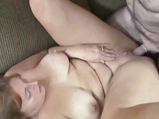 Redhead Liisa is getting her mature twat fucked