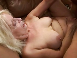 Bigtits granny getting fucked by her old lover