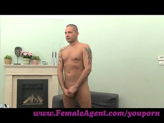 FemaleAgent. Sexy foot fetish casting